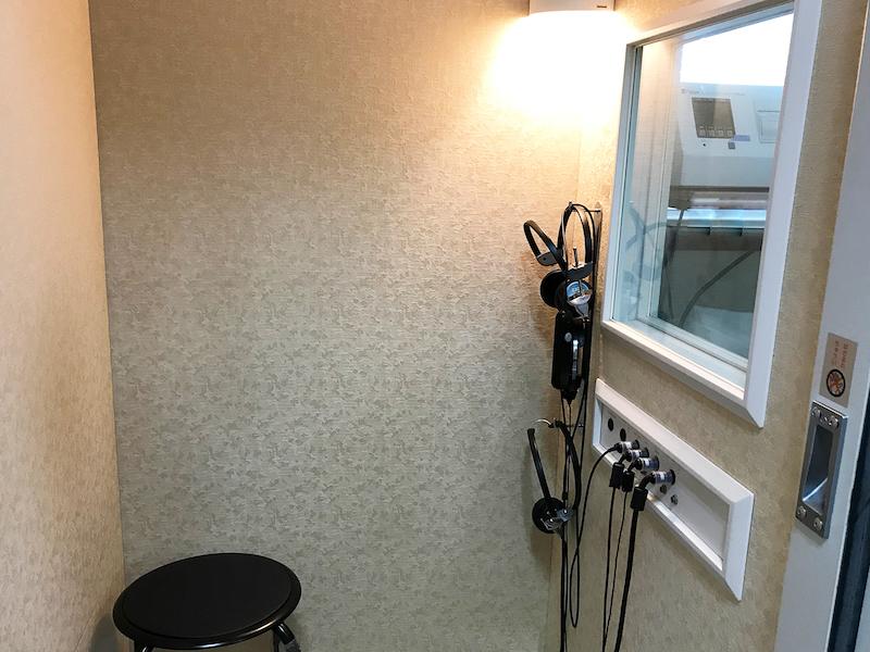 聴力検査室の画像